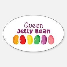 Queen Jelly Bean Decal