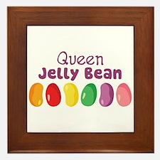 Queen Jelly Bean Framed Tile