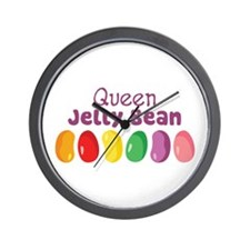 Queen Jelly Bean Wall Clock