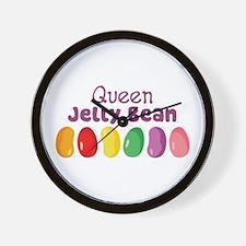 Queen Jelly Bean Wall Clock