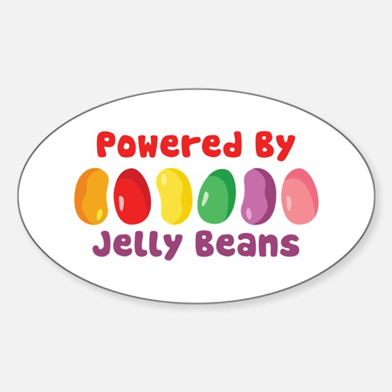 Powered By Jelly Beans Decal