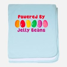 Powered By Jelly Beans baby blanket