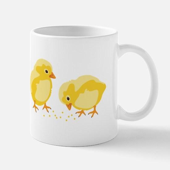 Baby Chicks Mugs