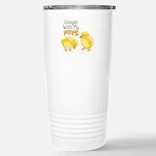 Hangin With My PEEPS Travel Mug