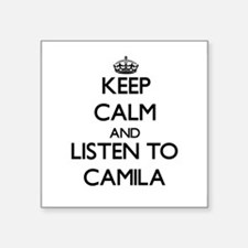 Keep Calm and listen to Camila Sticker