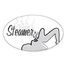 The Cleveland Steamer- Oval Decal