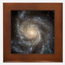 Spiral Galaxy Framed Tile
