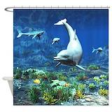 Underwater Shower Curtains