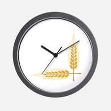 Stalks Corner Wall Clock