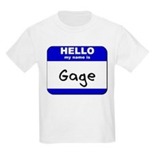 hello my name is gage T-Shirt