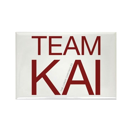 Team Kai Rectangle Magnet