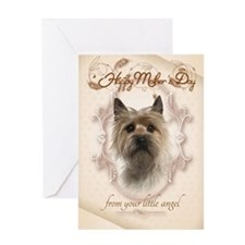 Funny Cairn Terrier Mothers Day Cards