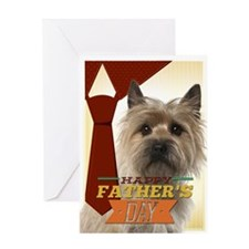 Cairn Terrier Fathers Day Cards