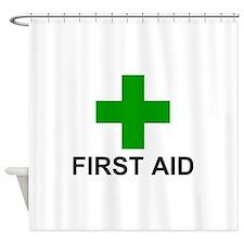 GC First Aid Shower Curtain