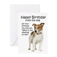 Jack Russell Birthday Cards