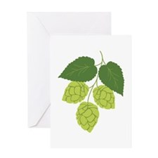 Bunch of Hops Greeting Cards