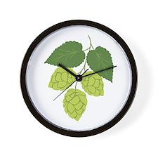 Bunch of Hops Wall Clock