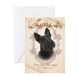 Scottie dog cards Greeting Cards