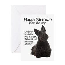 Funny Scottie Birthday Cards