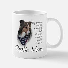 Sheltie Mom #1 Small Mugs
