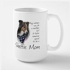 Sheltie Mom #1 Ceramic Mugs