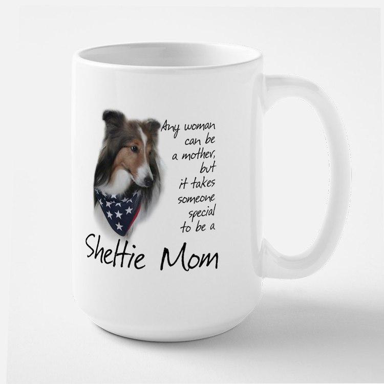 Sheltie Mom #1 Large Mug