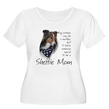 Sheltie Mom #1 T-Shirt