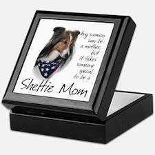 Sheltie Mom #1 Keepsake Box