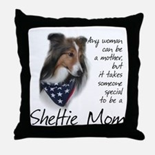 Sheltie Mom #1 Throw Pillow