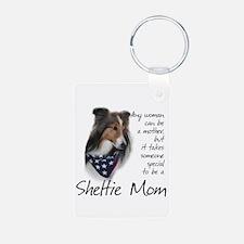 Sheltie Mom #1 Keychains