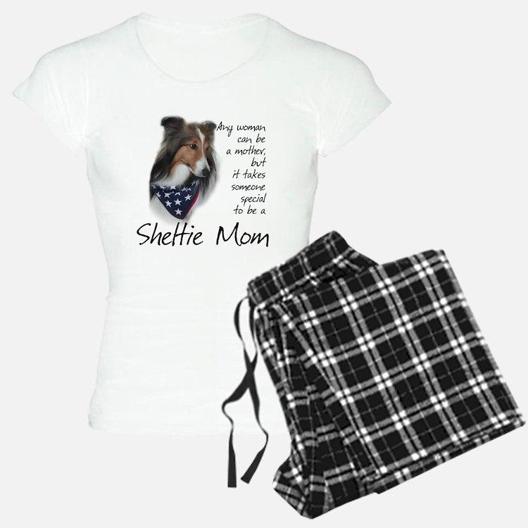 Sheltie Mom #1 pajamas