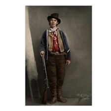 Fully Restored Billy the Kid Color Postcards (Pack