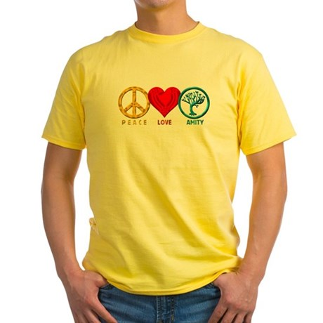 Peace Love Amity Divergence T-Shirt