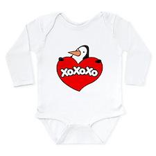 Penguin Lover Long Sleeve Infant Bodysuit