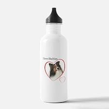 Sheltie Love Water Bottle
