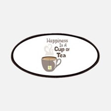 Happiness Is A Cup Of Tea Patches