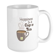 Happiness Is A Cup Of Tea Mugs
