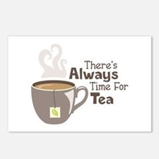 Theres Always Time For Tea Postcards (Package of 8