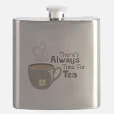 Theres Always Time For Tea Flask