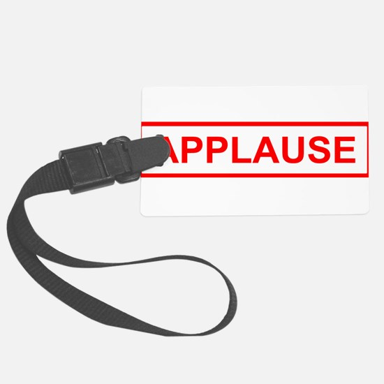 Applause Luggage Tag