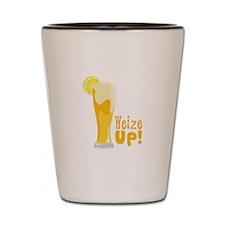 Weize Up! Shot Glass