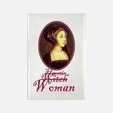 Anne Boleyn - Heretic/Witch/W Rectangle Magnet