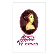 Anne Boleyn - Heretic/Witch/W Postcards (Package o