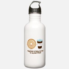 Coffee and Donut Married BF Water Bottle