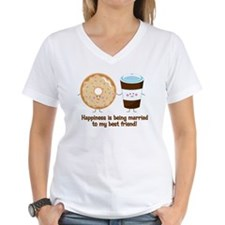 Coffee and Donut Married BF Shirt