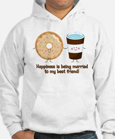 Coffee and Donut Married BF Hoodie