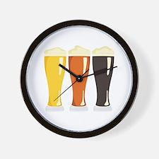 Beer Variety Wall Clock