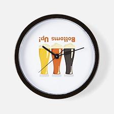 Bottoms Up! Beer Wall Clock
