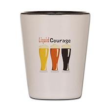 Liquid Courage Shot Glass