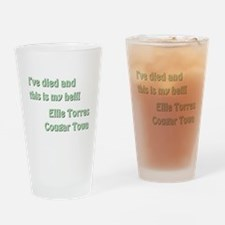 I'VE DIED AND... Drinking Glass